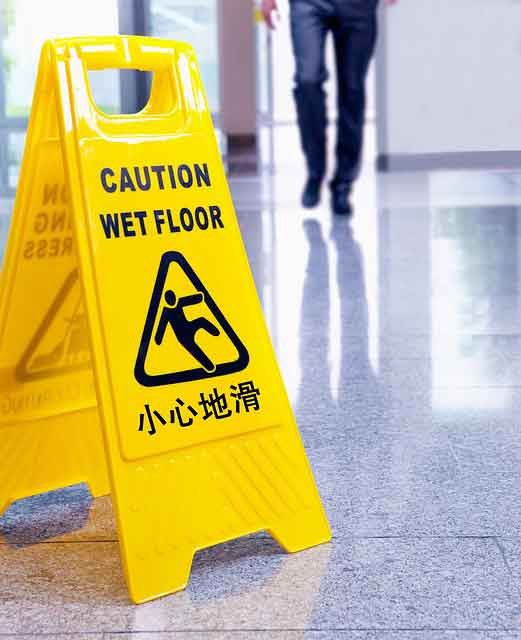 Slip and Fall Negligence Cases